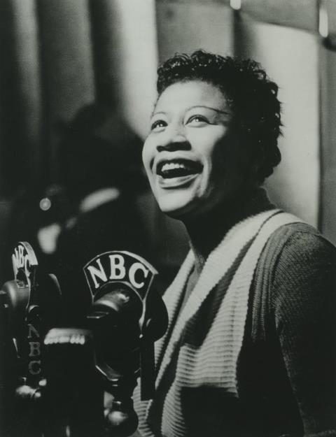 One of best singers of all time, Ella Fitzgerald