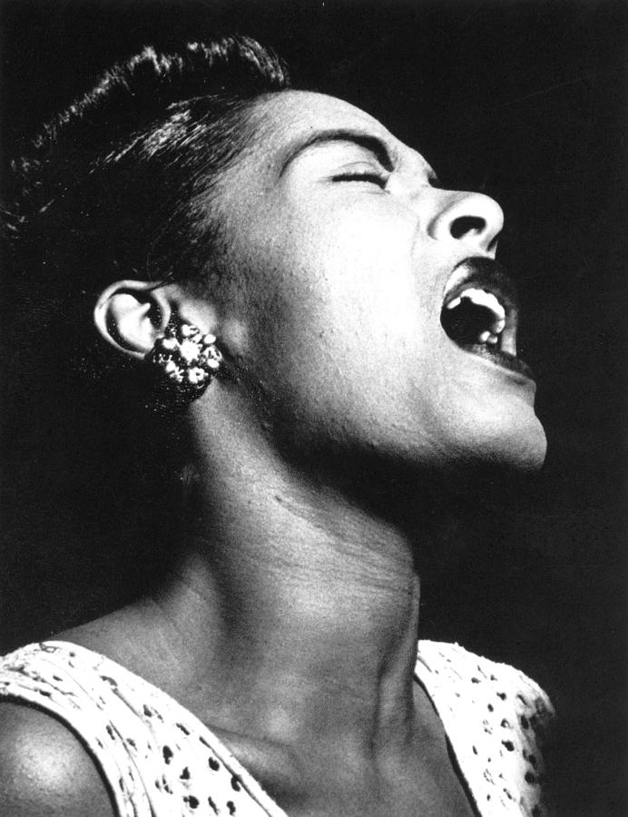 Billie Holiday singing