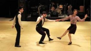 lindy hop stealing routine